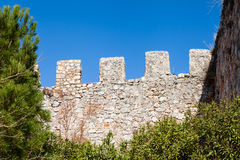 Castle Ramparts Royalty Free Stock Photo