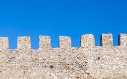 Castle Ramparts Royalty Free Stock Photos
