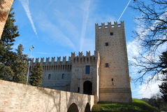 Castle of the Rancia Stock Photos