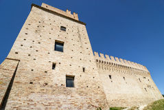 Castle of Rancia, near Tolentino Royalty Free Stock Images