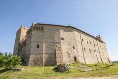 Castle of Rancia, near Tolentino Stock Photography