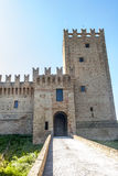 Castle of Rancia, near Tolentino Stock Images