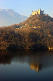 Castle reflected lake (5/6) Stock Photography