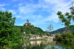 Castle Reichsburg Στοκ φωτογραφίες με δικαίωμα ελεύθερης χρήσης