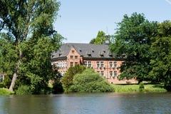Castle of Reinbek, Germany. Historical renaissance castle of Reinbek in Germany stock photography