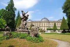 Castle residenz würzburg Royalty Free Stock Photography