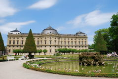 Castle residenz würzburg Royalty Free Stock Photos