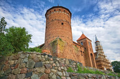 Castle in Reszel Stock Photography