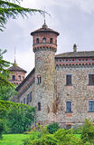 Castle of Rezzanello. Emilia-Romagna. Italy. Stock Photography
