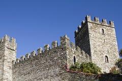 Castle in Rezzonico Royalty Free Stock Image