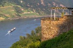 Castle Rheinstein Royalty Free Stock Image