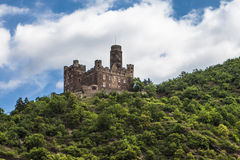 Castle on the Rhine Stock Images