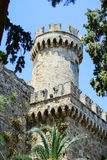 Castle in Rhodes Greece - The Palace of the Grand Master Royalty Free Stock Image