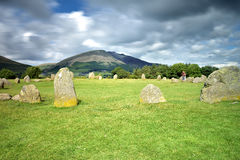 Castle Rigg Stone Circle Royalty Free Stock Photos