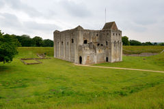 Castle Rising Castle - The Keep Stock Photography