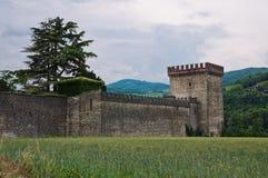 Castle of Riva. Ponte dell'Olio. Emilia-Romagna. Italy. Stock Images