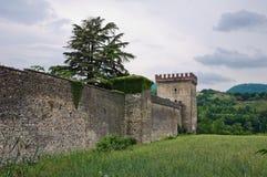 Castle of Riva. Ponte dell'Olio. Emilia-Romagna. Italy. Royalty Free Stock Photos