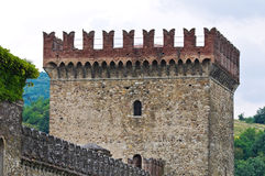 Castle of Riva. Ponte dell'Olio. Emilia-Romagna. Italy. Royalty Free Stock Images