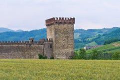 Castle of Riva. Ponte dell'Olio. Emilia-Romagna. Italy. Stock Image