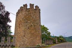 Castle of Riva. Ponte dell'Olio. Emilia-Romagna. Italy. Royalty Free Stock Photography