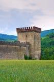 Castle of Riva. Ponte dell'Olio. Emilia-Romagna. Italy. Royalty Free Stock Images