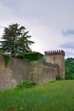 Castle of Riva. Ponte dell'Olio. Emilia-Romagna. Italy. Royalty Free Stock Photo