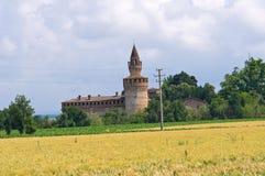 Castle of Rivalta. Emilia-Romagna. Italy. Stock Image