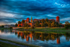 Castle on the River Royalty Free Stock Photography