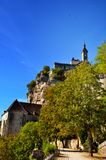 Castle of Rocamadour, France Stock Photo