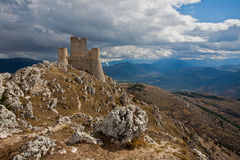Castle Rocca Calascio, L'Aquila, Italy Royalty Free Stock Photos