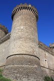 Castle of Rocca Pia in Tivoli (Roma, Italy) Royalty Free Stock Photos