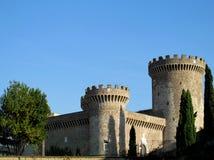 Castle of Rocca Pia, Tivoli, Rome Stock Image