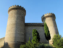 Castle of Rocca Pia, Tivoli, Rome Royalty Free Stock Images