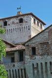 Castle of Roccabianca. Emilia-Romagna. Italy. Stock Photography