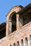 Castle of Roccabianca. Emilia-Romagna. Italy. Stock Photo