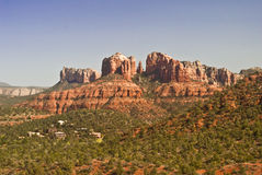 Castle Rock. In Sedona's Red Rock Country stock image