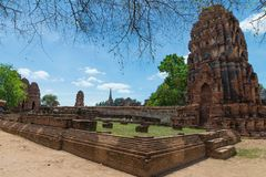 Castle Rock , Ancient Temple. Thailand Culture. Royalty Free Stock Photography