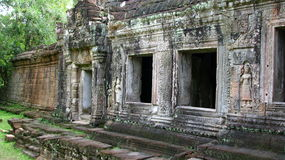 Castle rock au Cambodge Photos stock