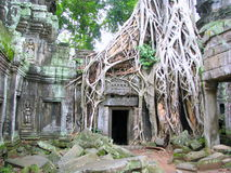 Castle rock au Cambodge Photographie stock