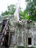 Castle rock au Cambodge Images stock