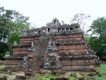 Castle Rock in Cambodia. Castle Rock remains in Cambodia Royalty Free Stock Images