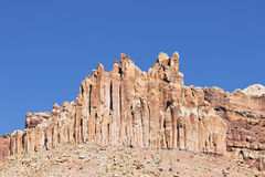 The Castle Rock formation Royalty Free Stock Photo