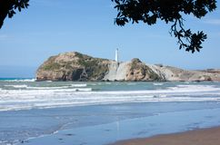 Castlepoint, New Zealand Stock Images