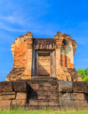Castle rock in the northeast of Thailand. After the restoration of the castle rock in the northeast of Thailand, Prasat Sra Kamphaeng Yai, Si Sa Ket stock images