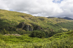 Castle Rock over Thirlmere Stock Photos