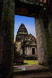 Castle Rock in Phimai Historical Park Stock Images