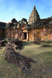 Castle rock. Prasat Phanom Rung Castle rocks in the Northeast of Thailand Stock Images