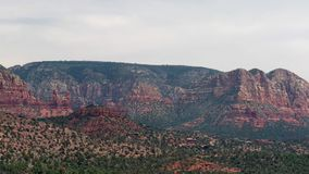 Castle Rock in Sedona, Arizona, USA stock footage