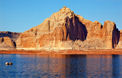 Castle Rock Wahweap Bay Lake Powell Glen Canyon Royalty Free Stock Photos
