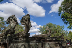 Castle rocks in the Northeast of Thailand Prasat Phanom Rung Stock Photography